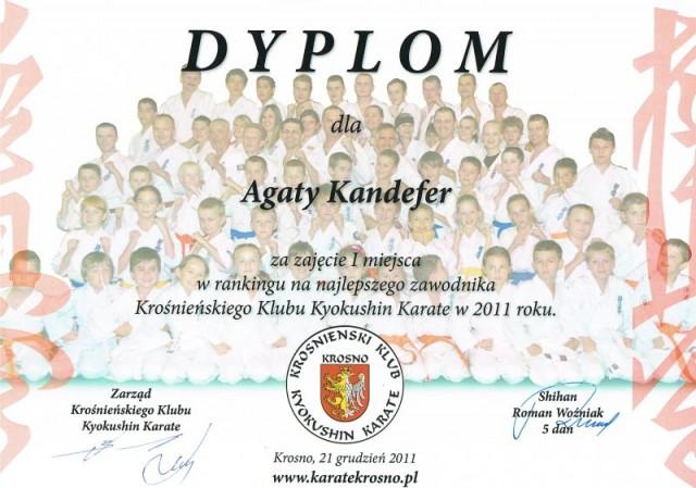 Pasje i sukcesy Agaty Kandefer