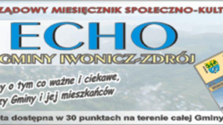 Listopadowe  Echo już w sprzedaży