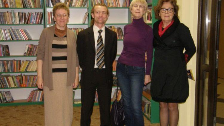 Lwowscy bibliotekarze w Gminnej Bibliotece Publicznej w Iwoniczu-Zdroju
