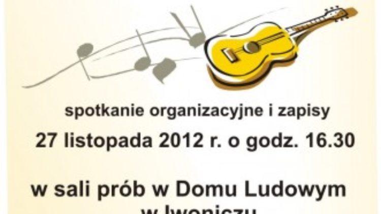 Kółko gitarowe w Iwoniczu
