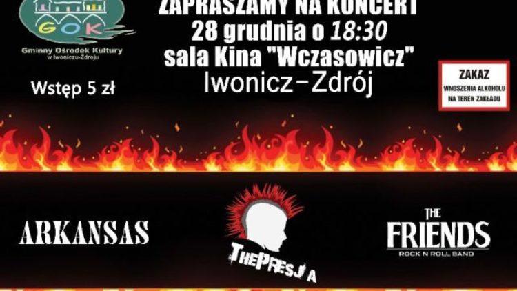 Koncert Zespołów Młodzieżowych w kinie Wczasowicz