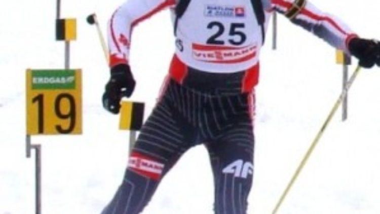 """Podium biathlonisty z IKN """"Górnik"""" Iwonicz-Zdrój !!!"""