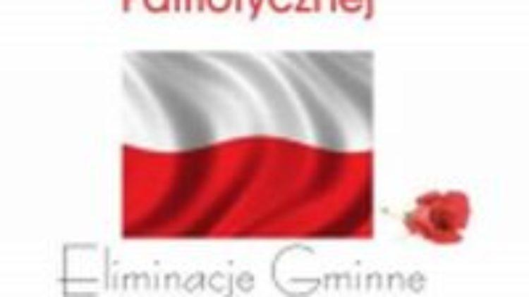 VII Powiatowy Konkurs Recytatorski Polskiej Poezji Patriotycznej