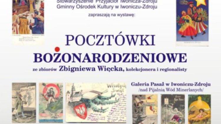 """""""Pocztówki Bożonarodzeniowe"""" – Pana Zbigniewa Więcka"""