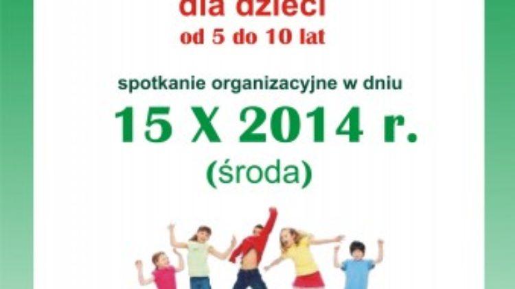 Gminny Ośrodek Kultury ogłasza nabór do kółka tanecznego w Iwoniczu.