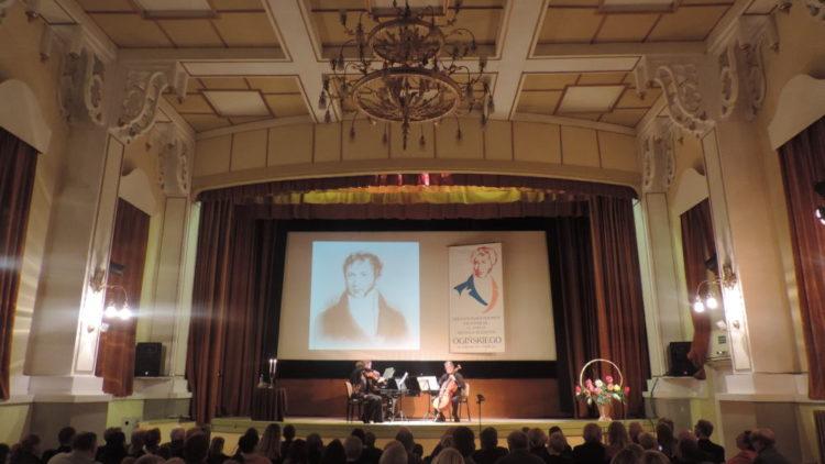 Koncert potomków Michała Kleofasa Ogińskiego i hr. Załuskich
