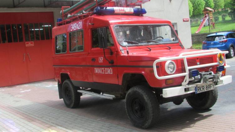 Przetarg ustny – nieograniczony na sprzedaż samochodu pożarniczego