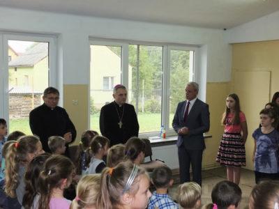 Wizyta Księdza Biskupa Stanisława Jamrozka