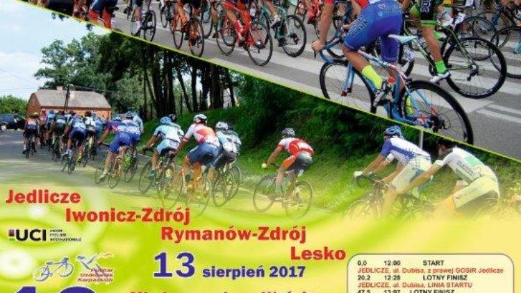 """XVIII Edycja międzynarodowego wyścigu kolarskiego o""""Puchar Uzdrowisk Karpackich"""""""
