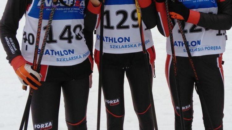 Młode biathlonistki z brązowym medalem Mistrzostw Polski!