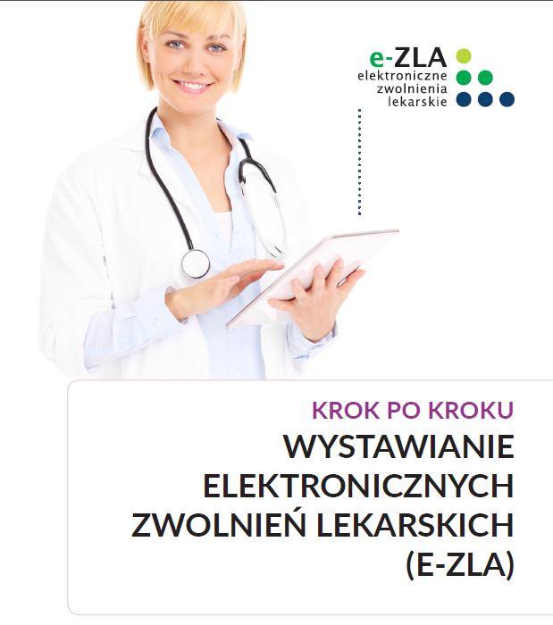 """Elektroniczne zwolnienia lekarskie – """"e-ZLA"""""""
