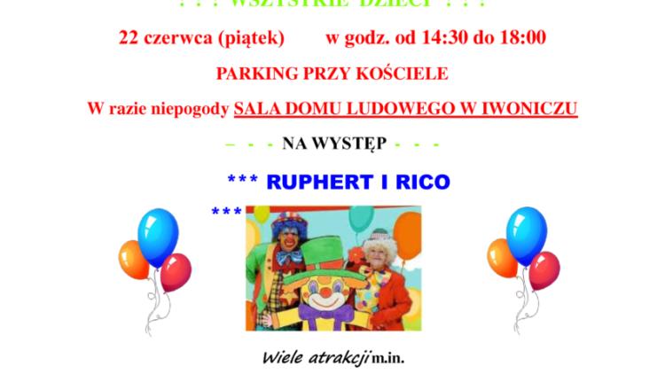 Występ RUPHERT i RICO