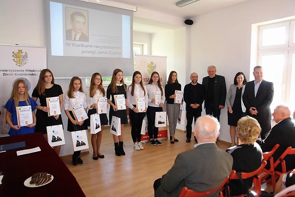 IV Konkurs recytatorski poezji Jana Zycha w Korczynie