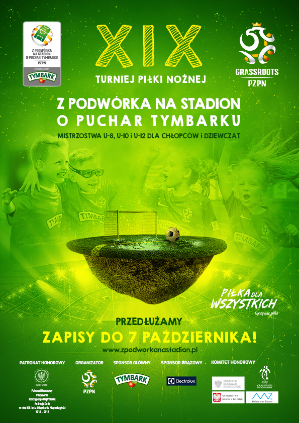 """Rusza XIX edycja turnieju """"Z Podwórka na Stadion o Puchar Tymbarku"""""""