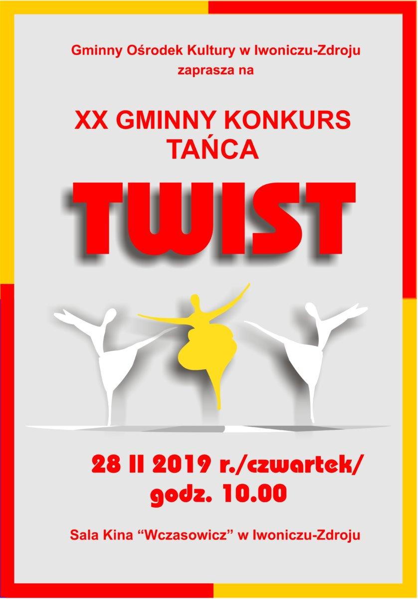 XX Gminny Konkurs Tańca Twist