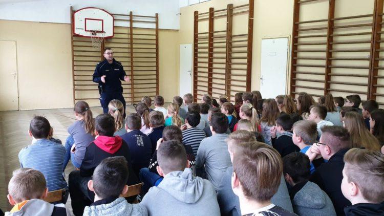 Bezpieczne ferie – spotkanie z policjantem