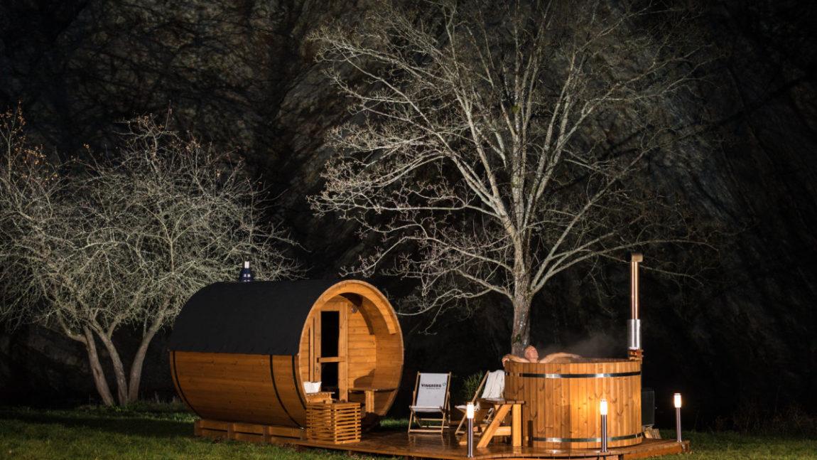 Strefa relaksu VINGBERG  z balią i sauną otwarta już od piątku!
