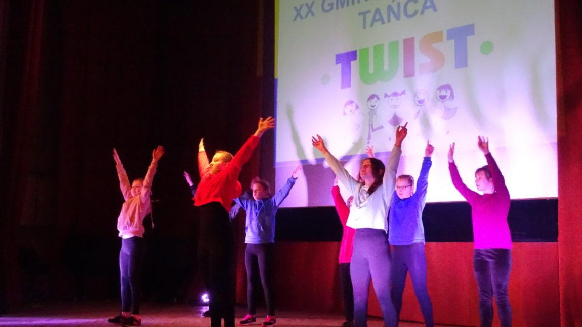 """XX Gminny Konkurs Tańca """"TWIST"""""""