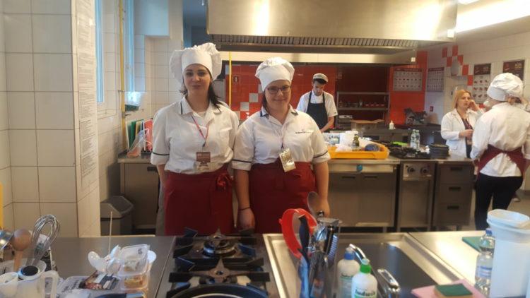 Wyróżnienie w międzynarodowym konkursie kulinarnym