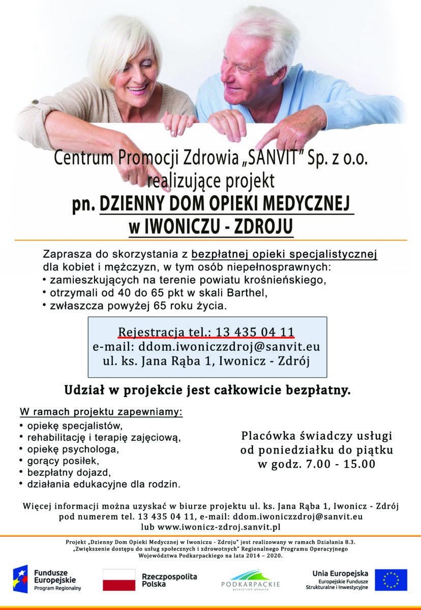 Dzienny Dom Opieki Medycznej w Iwoniczu – Zdroju