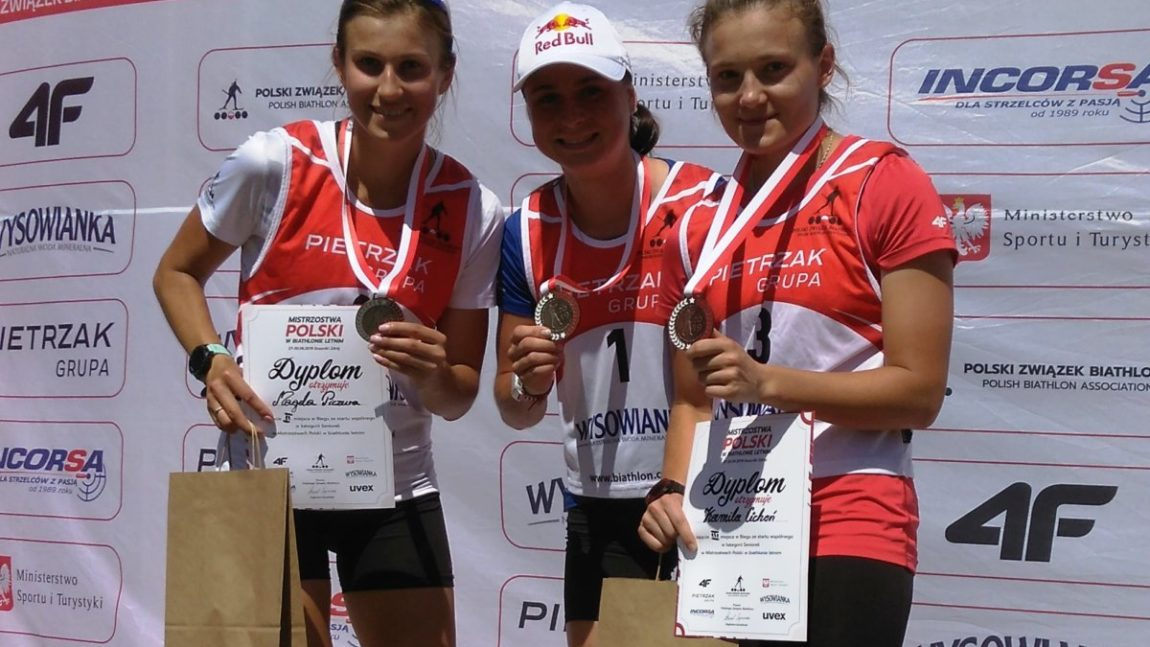Kamila Cichoń z brązowym medalem Mistrzostw Polski
