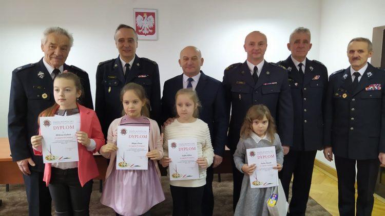 """""""Zapobiegajmy pożarom"""" – finał powiatowy Ogólnopolskiego Konkursu Plastycznego"""