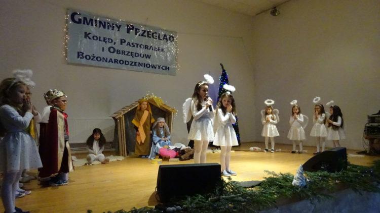 I miejsce w XXII Gminnym Konkursie Kolęd, Pastorałek i Obrzędów Bożonarodzeniowych