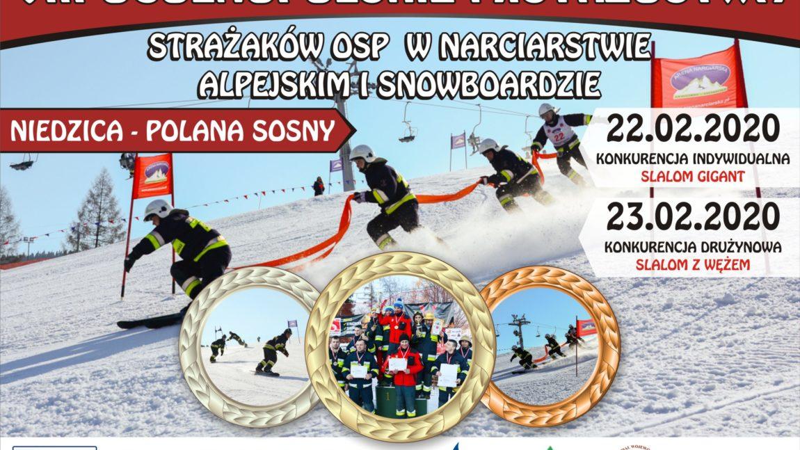 VIII Ogólnopolskie Mistrzostwa Strażaków OSP w Narciarstwie Alpejskim i Snowboardzie 2020