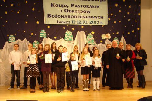 Protokół z XIII Gminnego Konkurs Kolęd i Pastorałek i Obrzędów Bożonarodzeniowych