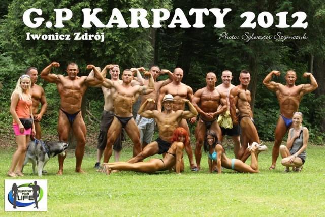 Mistrzostwa Podkarpacia w wyciskaniu sztangi leżąc i kulturystyce / Grand Prix Karpat 2012