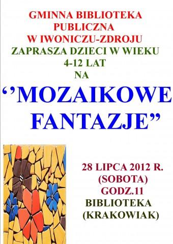 """""""MOZAIKOWE FANTAZJE"""""""