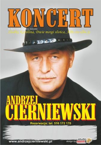 Andrzej Cierniewski – koncert w Iwoniczu-Zdroju