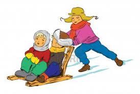 Zabawy i zawody na śniegu