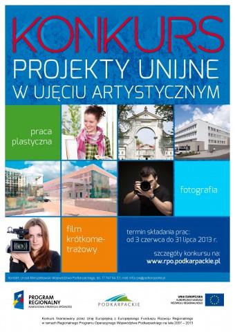 Projekty unijne w ujęciu artystycznym