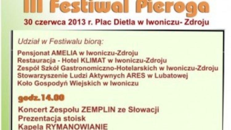 III  Festiwal Pieroga