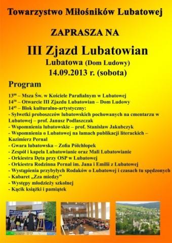 III Zjazd Lubatowian