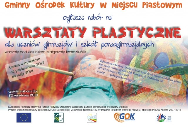 Warsztaty plastyczne dla młodzieży