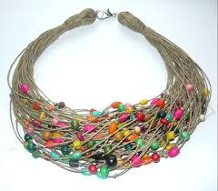 Otwarcie wystawy  biżuterii  sznurkowej