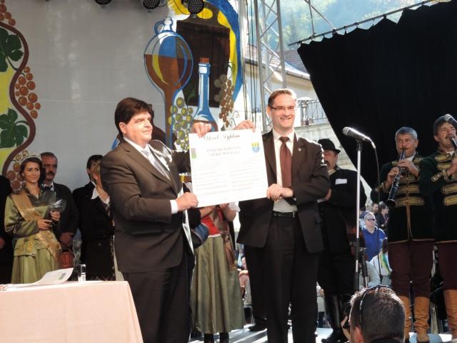 Umowa partnerska z Tokajem podpisana