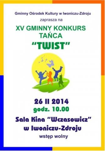 """XV Gminny Konkurs Tańca """"Twist"""""""