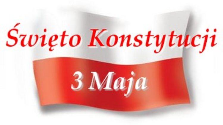 Rocznica Konstytucji 3 Maja –   uroczystości  powiatowe