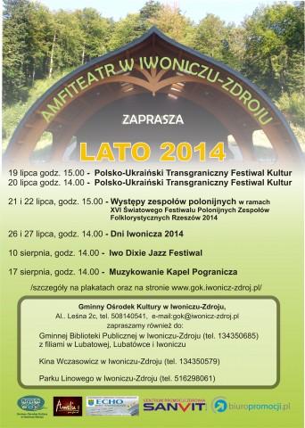 Najbliższe wydarzenia kulturalne w Iwoniczu-Zdroju