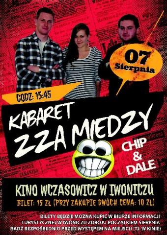 Kabaret Zza miedzy i zespół Chip&Dale