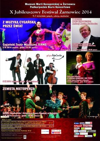 X Jubileuszowy Festiwal w Żarnowcu 05-07 września 2014 r.