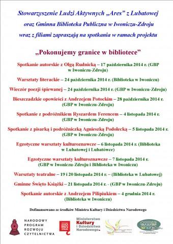 Najbliższe wydarzenia kulturalne w Gminie Iwonicz-Zdrój