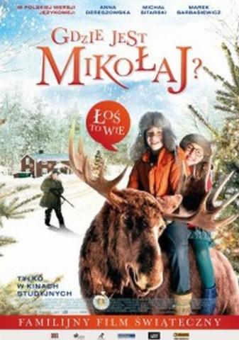 """Kino """"Wczasowicz""""    zaprasza na film """"Gdzie jest Mikołaj"""""""