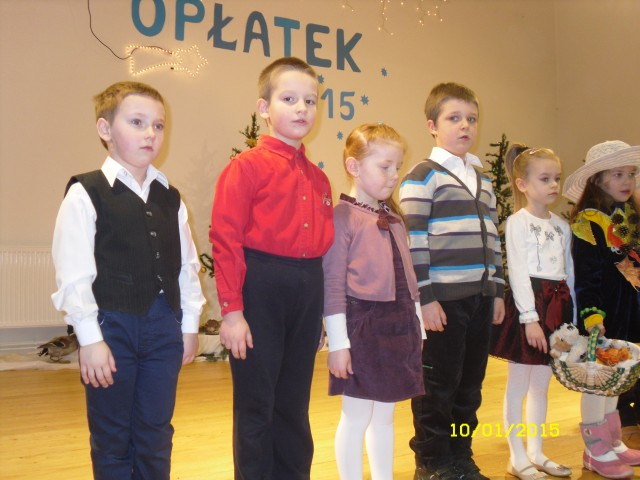 Opłatek dla ludzi starszych i samotnych-10.01.2015r.
