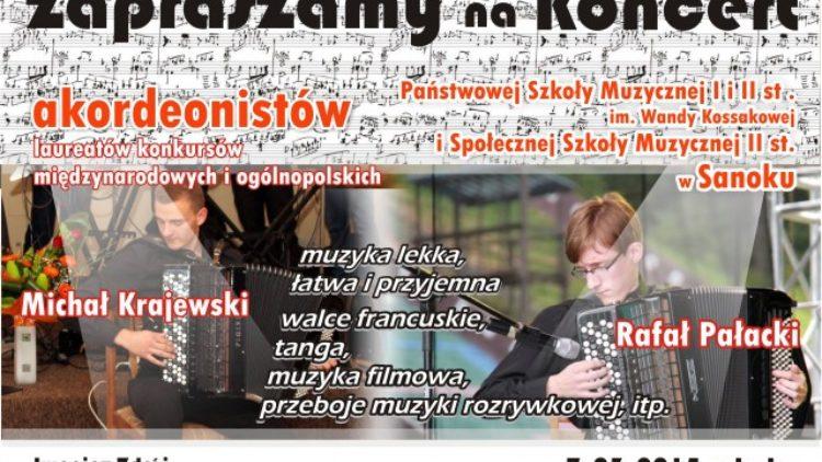 """Koncert akordeonistów  PSM w Sanoku  – Szpital Uzdrowiskowy"""" Excelsior"""""""