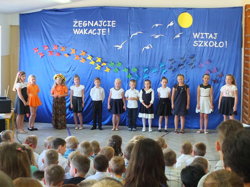 Rozpoczęcie roku szkolnego 2015/2016 w Lubatówce