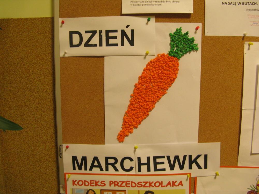 Święto Marchewki w Przedszkolu Gminnym w Iwoniczu- 12.10.15r.